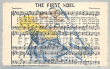 sub014741 - The First Noel  Postcard