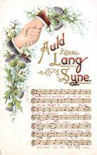 sub014743 - Auld Lang Syne  Postcard