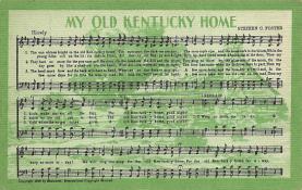 sub014751 - My Old Kentucky Home  Postcard