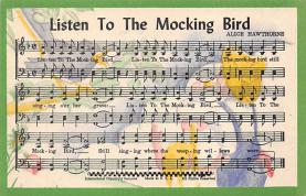 sub014757 - Listen To The Mocking Bird  Postcard