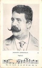 sub014793 - Ruggiero Leoncavallo  Postcard