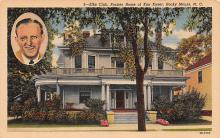 sub014815 - Elks Club, Former Home of Kay Kyser Rocky Mount, NC, USA Postcard