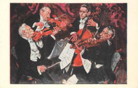 sub014821 - Comic Orchestra  Postcard