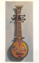 sub014835 - Five-stringed musical instrument Indian Sur Sanga Postcard