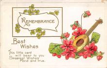 sub014839 - Remembrance Best Wishes Postcard