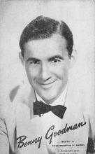sub014905 - Benny Goodman  Postcard