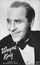 sub014911 - Wayne King  Postcard