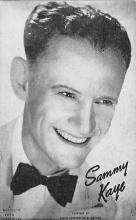 sub014917 - Sammy Kaye  Postcard