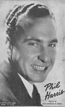 sub014923 - Phil Harris  Postcard