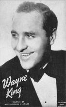 sub014931 - Wayne King  Postcard