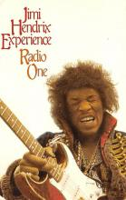 sub014943 - Jimi Hendrix Experience Radio One Postcard