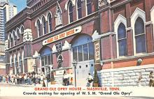 sub014967 - Grand Ole Opry House Nashville, TN, USA Postcard