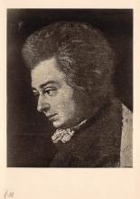 sub014981 - Wolfgang Amadeus Mozart  Postcard