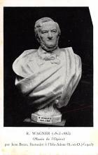 sub014985 - R Wagner Bust  Postcard