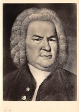 sub014989 - Johann Sebastian Bach  Postcard