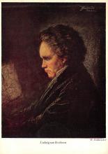 sub014997 - Ludwig van Beethoven  Postcard