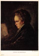 sub015001 - Ludwig van Beethoven  Postcard