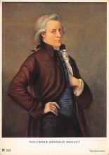 sub015005 - Wolfgang Amadeus Mozart  Postcard