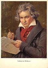 sub015007 - Ludwig van Beethoven  Postcard