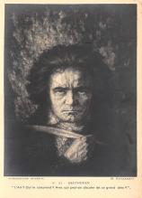 sub015009 - Beethoven  Postcard
