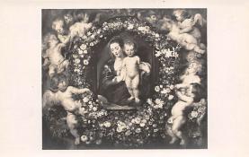 sub015011 - Woman with Cherubs  Postcard