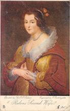 sub015019 - Rubens Second Wife  Postcard