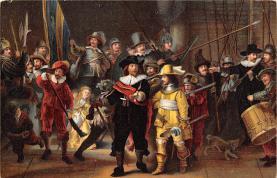 sub015101 - Die Nachtwache Rembrandt Harmensz van Ryn Postcard