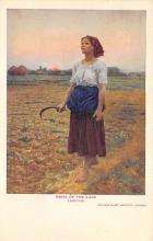 sub015103 - Song of the Lark  Postcard