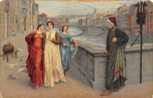 sub015123 - Henry Holiday Dante and Beatrice Postcard