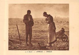 sub015209 - Angelus J F Millet Postcard
