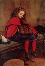 sub015239 - My Second Sermon Millais Postcard