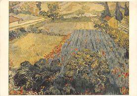 sub015253 - Poppy Field Vincent Van Gogh Postcard