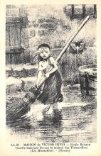 sub015279 - Le s Miserables Maison de Victor Hugo Postcard