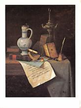 sub015295 - Gift of the Avalon Foundation William M Harnett Postcard
