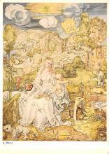 sub015335 - Madonna della Sedia Walter Classen Postcard
