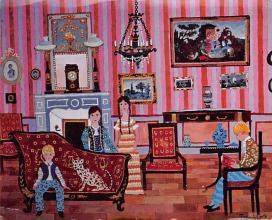 sub015341 - Les Enfants et le Petit Tigre Francine Trembolt Postcard