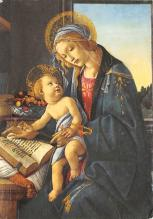 sub015343 - The Virgin and Child Botticelli Postcard