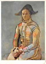 sub015345 - Soldier Pablo Picasso Postcard
