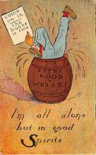 sub015401 - Extra Good Whisky  Postcard