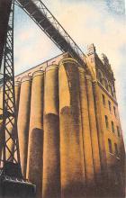 sub015425 - Grain Storage Elevators Budweiser Anheuser Busch, St. Louis MO USA Postcard