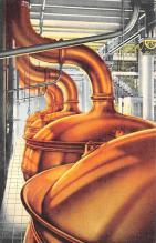 sub015427 - Copper Brew Kettles Budweiser Anheuser Busch, St. Louis MO USA Postcard