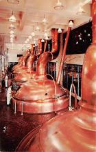 sub015455 - Chrome and copper brew kettles Miller Brewing CO, Milwaukee, Wisconsin, USA Postcard