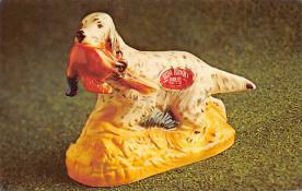 sub015477 - Dog Ezra Brooks Postcard
