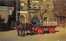 sub015505 - The Brewery Wagon  Postcard
