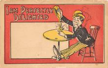 sub015527 - I'm perfectly delighted  Postcard