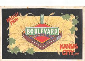 sub015529 - Boulevard Brewing Co. Kansas City, Mo., USA Postcard