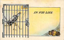 sub015531 - In Jail for Life  Postcard