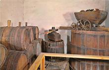 sub015547 - Old wine press and quipment San Gabriel California, USA Postcard
