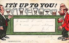 sub015659 - It's Up to You  Postcard