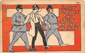 sub015679 - Drunk  Postcard